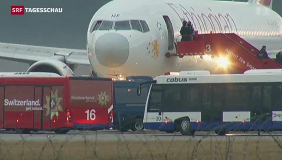 Ausnahmezustand am Flughafen Genf