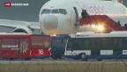 Video «Ausnahmezustand am Flughafen Genf» abspielen