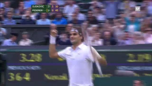 Wimbledon-Halbfinal: Highlights Djokovic - Federer («sportlive»)