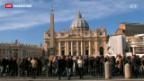 Video «Spekulationen über den Papst-Rücktritt und Nachfolger» abspielen