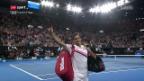 Video «Federer steht im Melbourne-Final» abspielen
