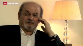 Video «Salman Rushdie in Leukerbad» abspielen