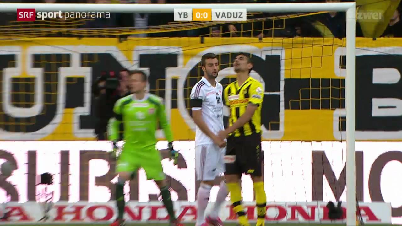 Fussball: Super League, YB - Vaduz