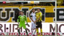 Video «Fussball: Super League, YB - Vaduz» abspielen