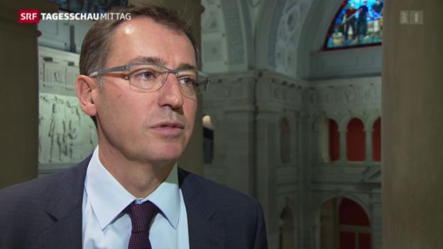 Video «SVP-Nationalrat Roland Büchel: «Natürlich ist das eine Zwängerei»» abspielen