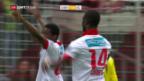 Video «Sion nach Sieg über GC auf Europacup-Kurs» abspielen