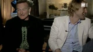 Video «Robin Williams macht Witze über seine Herz-OP» abspielen