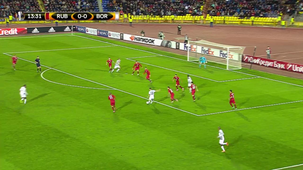 Fussball: Europa League 2015/16, 2. Gruppenspiel, Rubin Kasan - Bordeaux