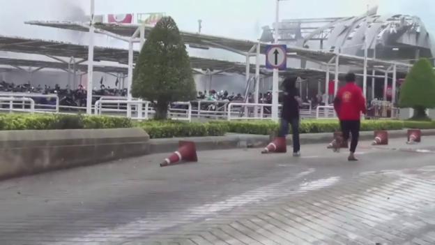 Video «Anschlag auf ein Einkaufszentrum in Pattani (unkom.)» abspielen