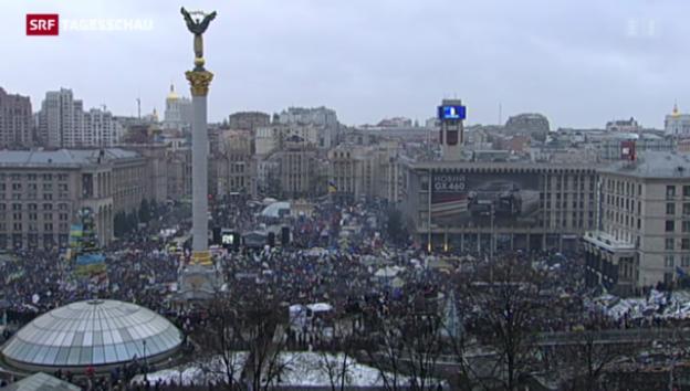 Video «Kiew: «Marsch der Millionen»» abspielen
