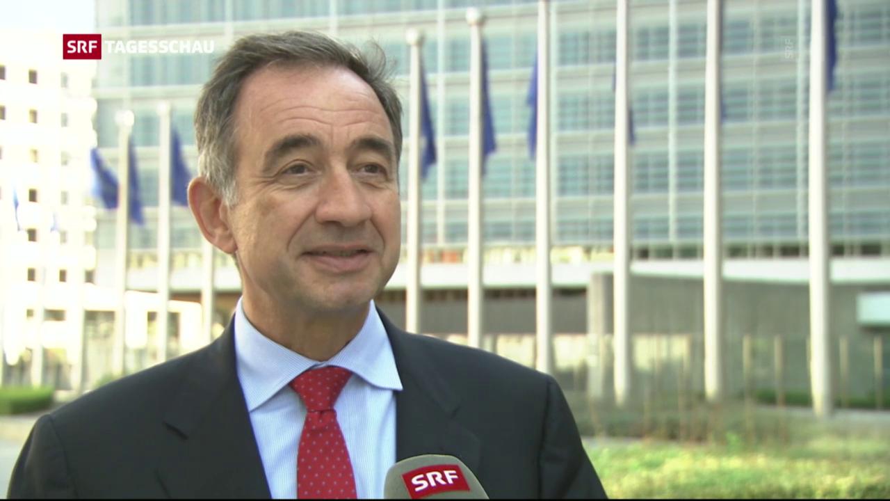 Der neue EU-Botschafter in der Schweiz