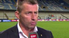 Video «Fussball: Interview mit GC-Trainer Michael Skibbe» abspielen
