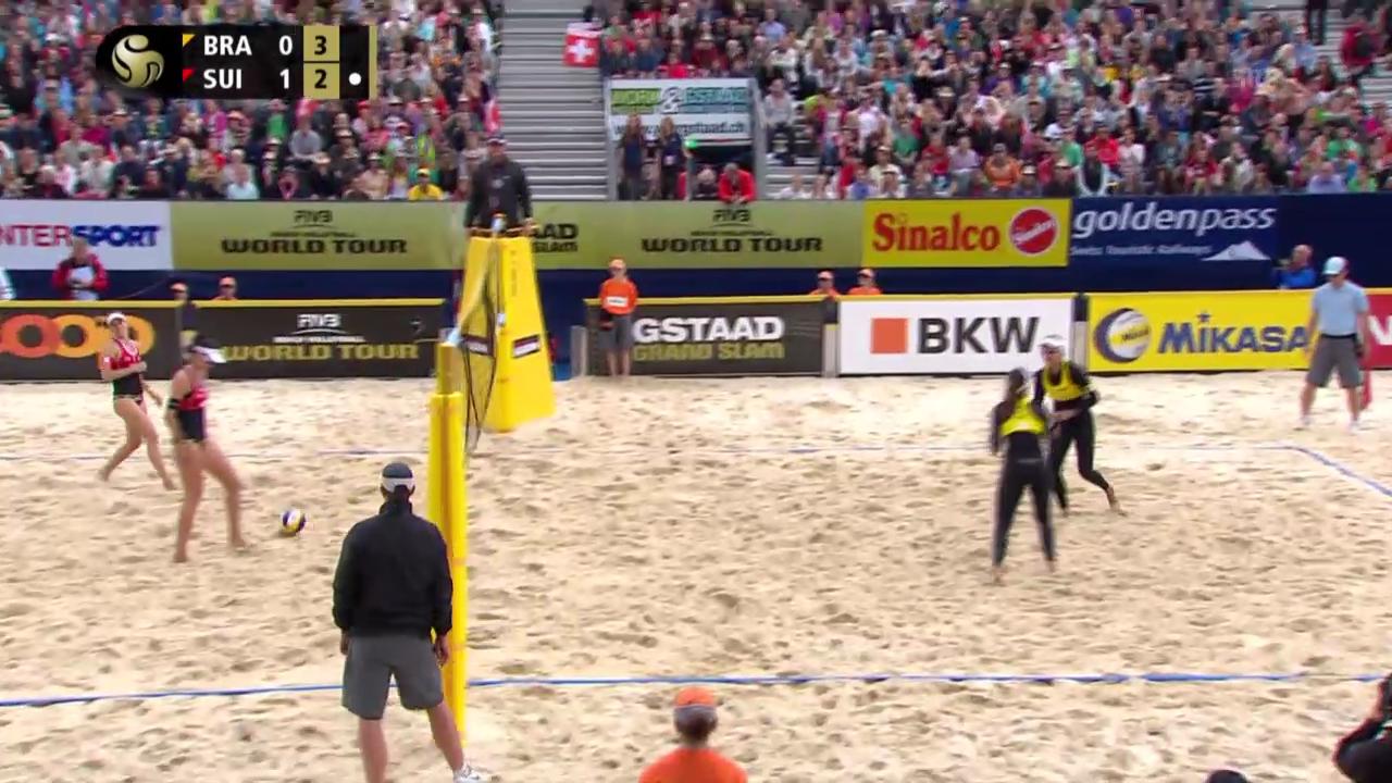 Beachvolleyball: Zumkehr/Heidrich im Viertelfinal gestoppt