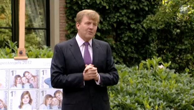 Video «Prinz Willem Alexander wendet sich am Geburtstag seines Bruders Friso an die Bevölkerung.» abspielen