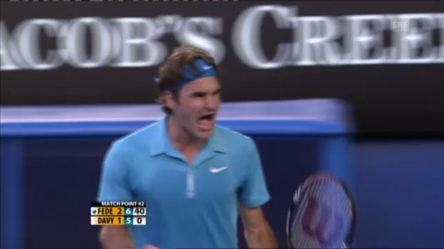 Video «Federer gegen Dawidenko: Stets hartumkämpfte Duelle» abspielen