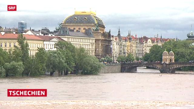 Überschwemmungen in Teilen Europas