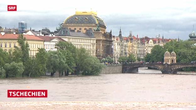 Video «Überschwemmungen in Teilen Europas» abspielen