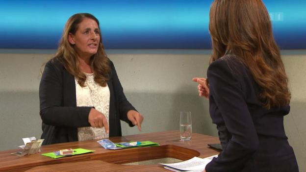 Video «Lohngleichheit, Genossenschaften, Jacqueline Badran, Glencore» abspielen
