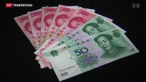 Video «Schweizer Handel mit China-Währung» abspielen