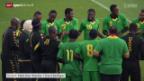 Video «Fussball: Die Reggae-Boys von Jamaika» abspielen