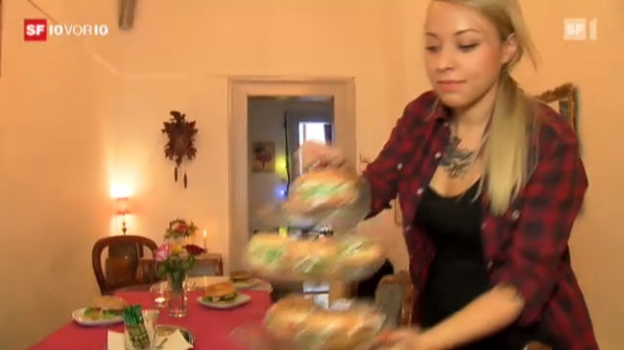 Video «Einblicke in die Veganer-Szene» abspielen