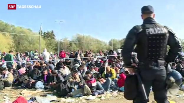 Video «Misstöne vor EU-Krisentreffen» abspielen