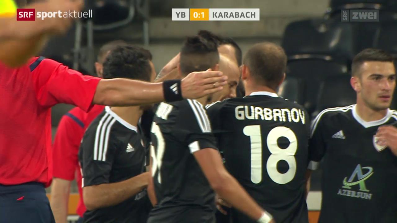 Fussball: Europa League, YB - Karabach