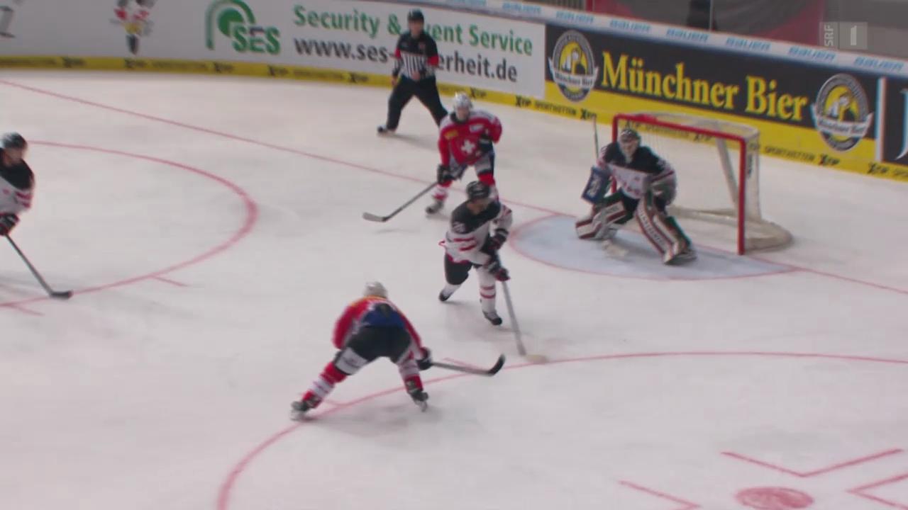 Eishockey: Deutschland Cup, Schweiz-Kanada