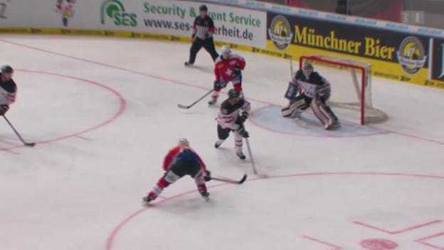 Video «Eishockey: Deutschland Cup, Schweiz-Kanada» abspielen