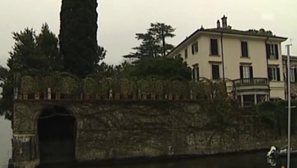 Clooneys Villa am Comersee (unkom. Video)