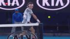 Video «Schweizer Halbfinal-Duell in Melbourne» abspielen