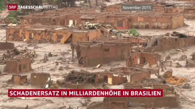 Video «Schadenersatz in Milliardenhöhe in Brasilien» abspielen