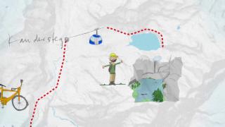 Video «Niks Route: Kandersteg/Gasterntal» abspielen