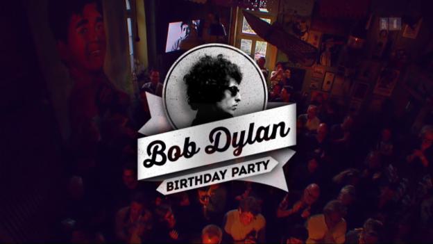 Video «Bob Dylan Birthday Party – Schweizer Stars singen Dylans Lieder» abspielen