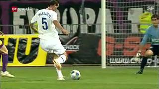 5.8.2009: FCZ schaltet Maribor aus