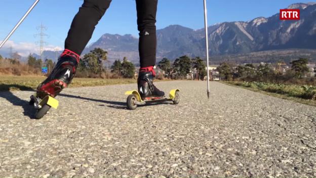 Laschar ir video «L'alternativa skis cun rodas»