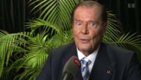 Video «Roger Moore: Sara Hildebrands Gipfeltreffen mit James Bond» abspielen