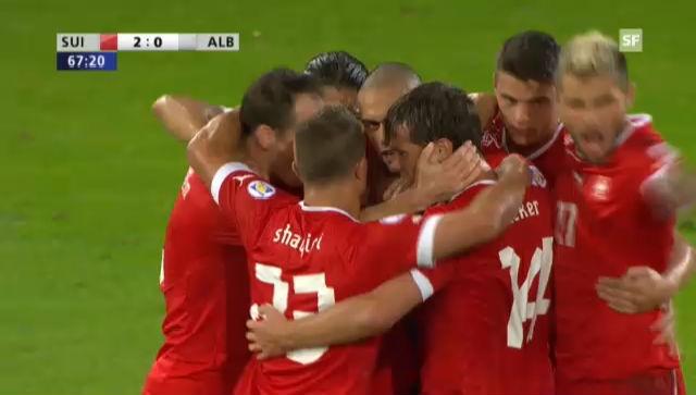WM-Quali 2014: Highlights Schweiz-Albanien («sportlive»)