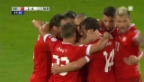 Video «WM-Quali 2014: Highlights Schweiz-Albanien («sportlive»)» abspielen