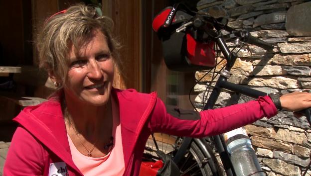 Video «Evelyne Binsack über Nordpol-Exkursion» abspielen
