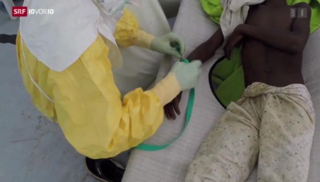 Video «Ebola: Schweiz schickt Hilfe» abspielen
