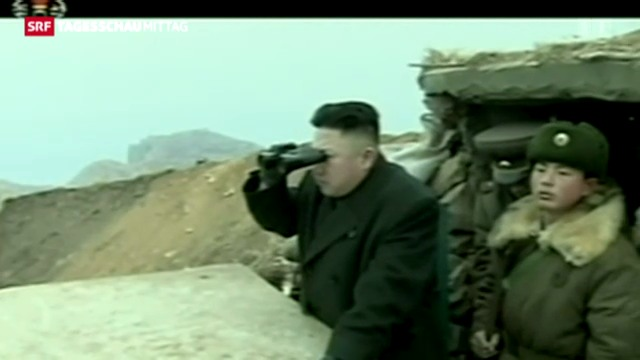 Säbelrasseln aus Nordkorea