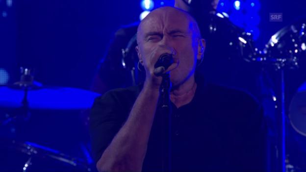 Video «New York weiht sein Dach ein – mit Phil Collins» abspielen