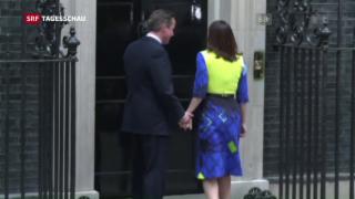 Video «Nach Brexit-Ja tritt Cameron ab» abspielen