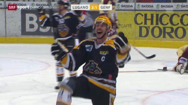 Video «Spielbericht Lugano - Genf («sportpanorama»)» abspielen