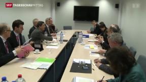 Video «Schweiz verhandelt über Freizügigkeit» abspielen