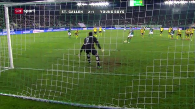 Video «SL: St. Gallen-Young Boys» abspielen