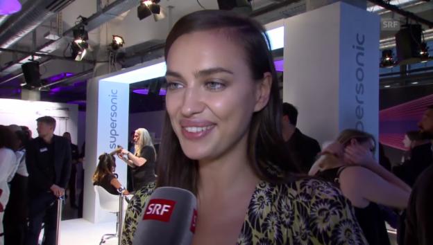 Video «Irina Shayk» abspielen