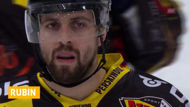 Video «Eishockey: Rubin zu Genf («sotschi aktuell», 7.2.2014)» abspielen