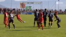Video «Cup: Cham - Servette» abspielen